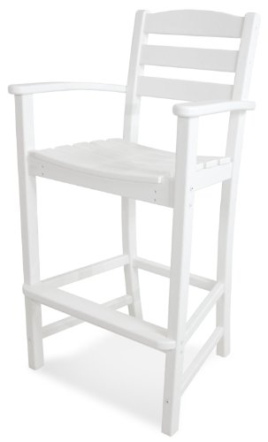Casa Café Bar Arm Chair, White ()