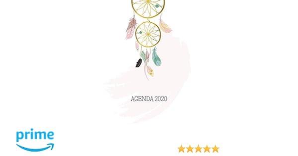 Agenda 2020: Atrapasueños Planeador Anual Mensual Semanal de ...