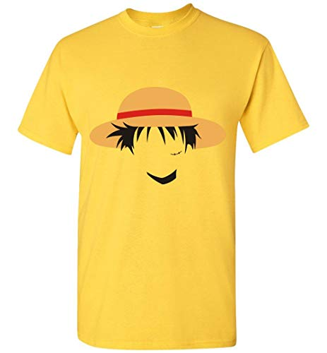 Anime Funny T-Shirt Straw Hat Pirates One Piece