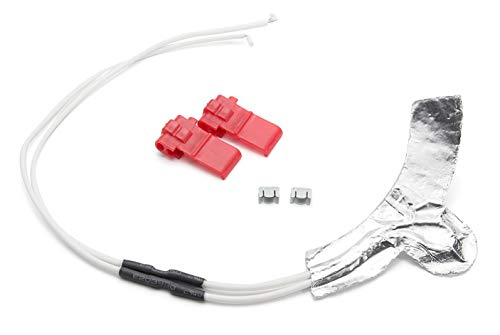 Ultra Durable WR49X10173 Dispenser Water Tube Heater Kit Replacement by IceSurrender - Exact Fit for General Electric Hotpoint Kenmore fridge - Replaces PS1766223, 1381601, AP4318572