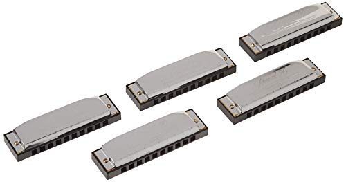 Hohner Special 20 5 Pack, Keys of G,A,C,D,E (Hohner Special 20 Harmonica Key Of G Major)