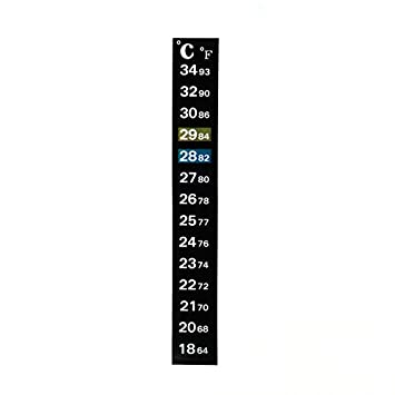 LANDUM - Termómetro Digital para Acuario (Doble Escala): Amazon.es: Hogar