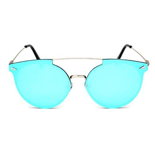 metal y a multicolor sol estilo de de mujer tendencia de RDJM europeo b para de Opcional Gafas Gafas sol americano marco qawUxgR0
