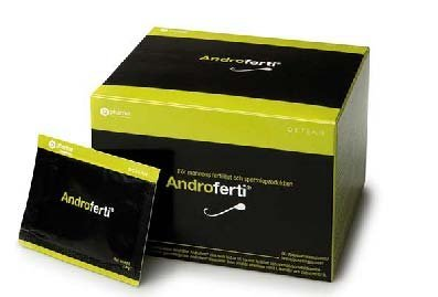 Androferti | Fertility Supplements for Men | Supports Reproductive Health| 60 Packets