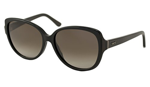 Price comparison product image Tods Sunglasses - TO0160 / Frame: Black Lens: Gray Gradient