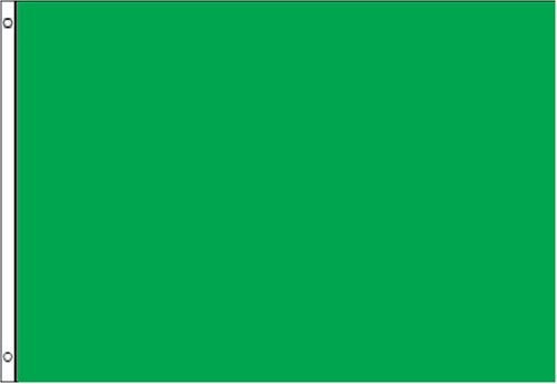 3x5 Green Flag NEW 3 x 5 Solid Green Blank Banner Sign