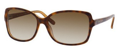 Kate Spade Women's Ailey Sunglasses,Demi Amber Orange Frame/Brown Gradient Lens,One - Sunglasses Clearance