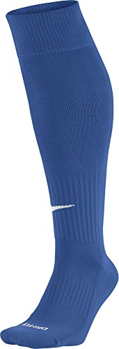 Nike Classic II Sock, Calcetines Unisex Azul / Blanco (Varsity Royal / White)
