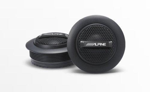 - Alpine SPS-110TW Type-S 1 Silk Dome Tweeter Set