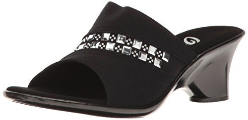 O Women's Maggy Sandal Wedge Black Onex NEX S6RwqnSa