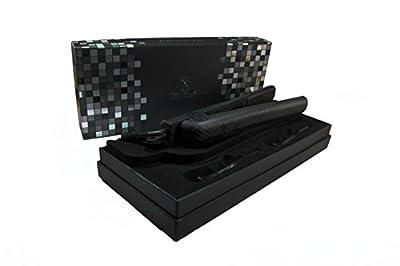 "Royale Hot Tools Classic Black Flat Iron/Hair Straightener 1-1/4"" Ceramic Plates"