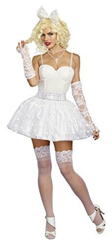 Dreamgirl Women's Boy Toy Babe, White, M