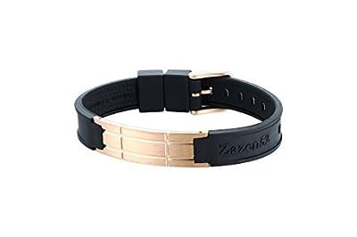 Zenturio Limited Quad Rosé Titanium Edition exclusive health bracelet