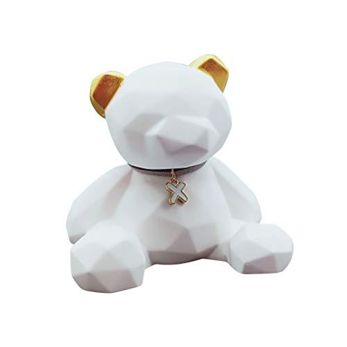 Vosarea Car Perfume Base Polar Bear Scented Ornaments Gypsum Figurine Crafts Decoration ()