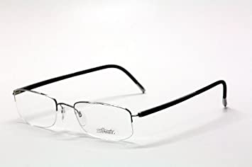 ea42667c9d7 Silhouette Zenlight Half Rim Eyeglasses Shape 7787 Optical Frame (Lens-49  Bridge-19