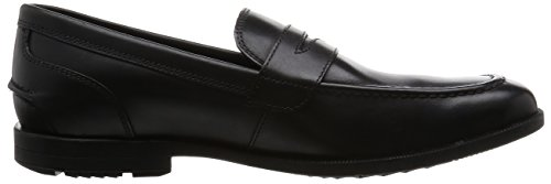 Nero Rockport Penny Black Road Moc Global Mocassini Uomo 1YYWUP