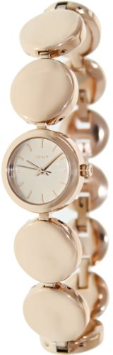 DKNY Rose Dial Rose Gold-tone Ladies Watch NY8868