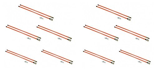 (10) Pair of 36'' Universal SNOW PLOW BLADE MARKER GUIDES for Buyers SAM 1308110 by The ROP Shop by The ROP Shop