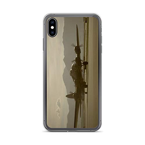 iPhone Xs Max Case Anti-Scratch Motion Picture Transparent Cases Cover Taxiing Movies Video Film Crystal Clear
