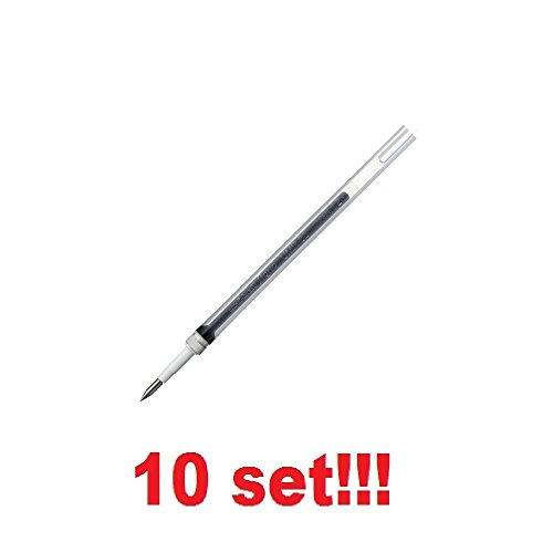 [10 Set!!!] Mitsubishi Pencil Ballpoint pen Refill ink Gelink Signo 0.28mm BLACK UMR82.24 from Japan