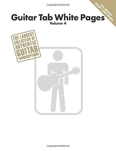 Guitar Tab White Pages: 4: Amazon.es: Hal Leonard Publishing ...