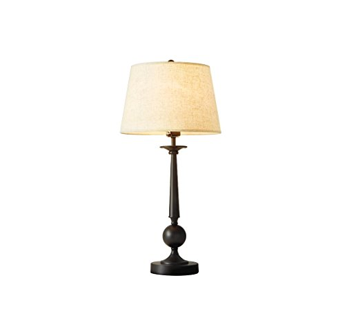 European style simple retro iron table head lamp