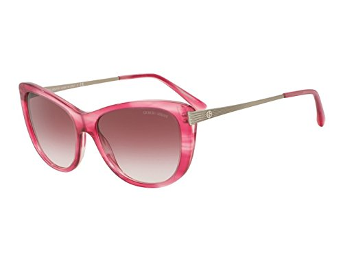 Giorgio Armani - AR 8078, Cat Eye, acetate, women, STRIPED FUCHSIA/GREY VIOLET SHADED(5489/8H), 56/16/140 - Armani Cat