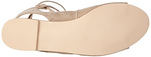 La Look Sandales Leather Micro Natural Strada Beige Femme Sandal Suede Natural Ouvertes 2206 BIArBFMwq4