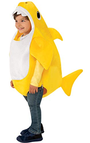 Family Halloween Costumes With Toddler And Baby (Rubie's Kid's Baby Shark Costume with Sound Chip,)