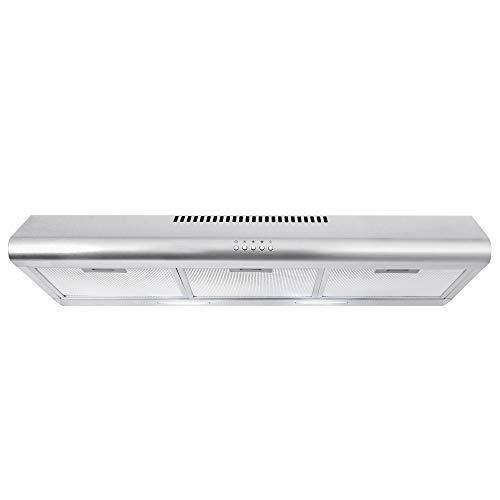 Cosmo 5MU36 36-in Under-Cabinet Range-Hood 200-CFM | Ducted / Ductless