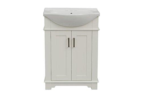 "Legion Furniture WLF6042-W Bath Vanity, 24"", White"