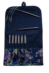 Hiya Hiya Sharp Interchangeable Needle Set- 5 inch tips: SMALL sizes