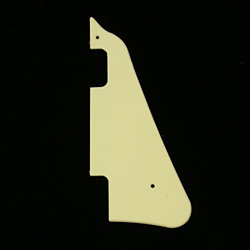 - General LP Deluxe Style Guitar Pick Guard ,Single ply Cream