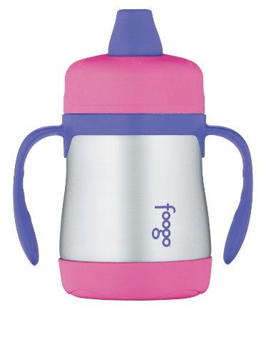 thermos-foogo-vacuum-insulated-stainless-steel-7-ounce-soft-spout-sippy-cup-with-handles-pink-purple