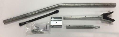 Shorelander 6133300 Adjustable Transom Saver - 45 Inches - 57 Inches - Galvanized Steel