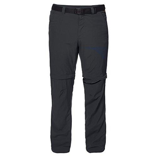 Jack Wolfskin Men's Hoggar Zip Off Pants, Phantom, Size 48 (US 33/32)