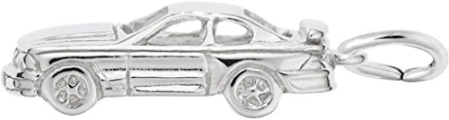 Rembrandt Muscle Car Charm - Metal - Sterling Silver ()