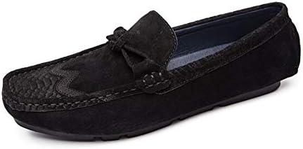 快適なスリップオン本革ローファー用男性の靴モカシンオフィスビジネスドレスフォーマル男性の靴居心地の良い通気性手作り縫合アンチスリップソール