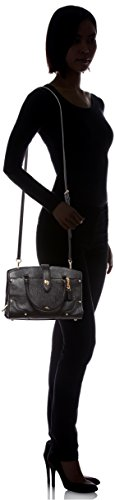 Bag Gold Black Light Coach Handle Top Satchel Mercer 24 Black Women's Zq0ZRYz
