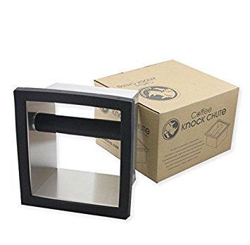 Rhino Coffee Gear RWKC Rhino Square Knock Chute, Black