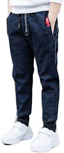 子供服 カジュアルパンツ ゆったり 春秋 テーパード デニムパンツ 柔らかい 学生 通園 おしゃれ 長ズボン