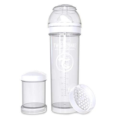 Mos 11 oz 330ml New Twistshake All in One Anti Colic Feeding Bottle Black 4