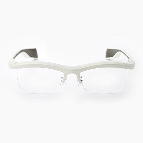 FUN'IKI Glasses (White/Gray) by Namae-Megane Inc.