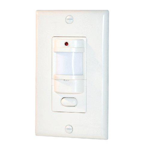 RAB Lighting OCCUPANCY SENSOR 800W 120V WALL ALMOND - (120v Almond)