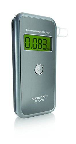 AlcoMate Premium Breath Alcohol Drug Testing Kit - AL 7000 (Alcohol Breath Sensor)