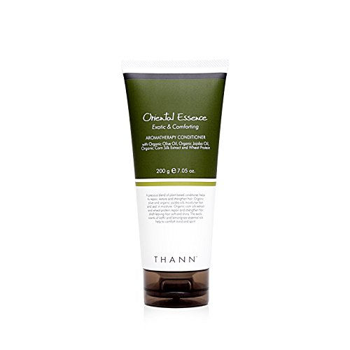 THANN Oriental Essence Aromatherapy Conditioner with Organic Olive Oil, Organic Jojoba Oil, Organic Corn Silk Extract and Wheat Protein 200 g
