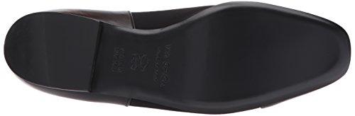 Women's Spiga Loafer Leather Stretch Black Black Via Tate 5Sd5wq