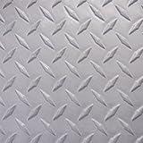 BlackTip Jetsports Sheet Goods Gray Diamond Plate traction mat/Sea-Doo Carpet/Pads/Mat/Footwell