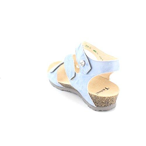 Think Dumia 01 2-82370-77 Damen Sandalette, Blau 38 EU