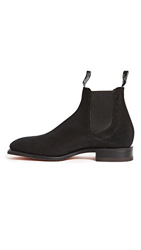 RM Williams Suede Craftsman (Free Care Product) - Black G Fit - 9 wrkUb
